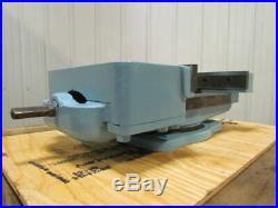 16 Jaw 12-1/2 Opening Heavy Duty Swivel Base Milling Drill Press Machine Vise