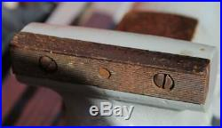 1940'S WILTON No. 4 BULLET VISE SWIVEL BASE 4 JAWS U. S. A. MADE