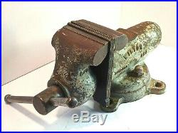 1946 Wilton 940 WE Machinist Bullet Bench Vise withSwivel Base