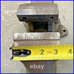 3-1/2 Wilton C0 Bullet Vise with Swivel Base Schiller Park, IL Bench Vice