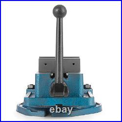 3-6 Bench Clamp Lock Vise with/without Swivel Base Hardened Metal CNC Secure