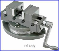 3/75mm SELF CENTERING VICE WITH SWIVEL BASE