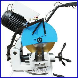 3 PHASE 14 Blade Metal Cutting Circular Cold Saw Swivel Base Vise Cut Ferrous