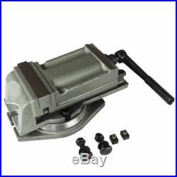 4 (100mm) Precision Milling Lathe Machine Vise + Swivel Base Heavy Duty 10kg