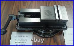4 ANG-LOCK MILLING MACHINE VISE w. Swivel base #850-400