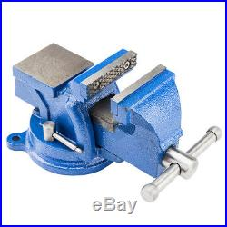 4 Bench Vise Heavy Duty Clamp 360 Swivel Locking Base Craftsman Vice Home Tool