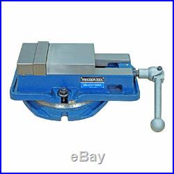 4 HOMGE ULTRA HIGH PRECISION MILLING VISE WithSWIVEL BASE KNEE MILL OR BENCH MILL