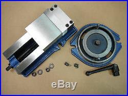4 PRECISION MILLING MACHINE VISE with SWIVEL BASE Lathe CNC Grinder M850400