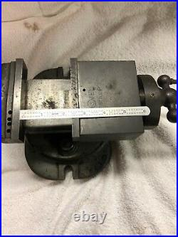 4 inch Milling Vise WithSwivel Base