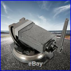 5 Clamp Vise Swivel Base & Angle Tilting 90º 2 Way Clamp Base Swivel 360º USA
