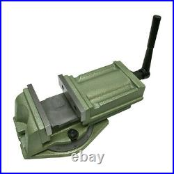 5'' Heavy Duty Milling Vise With Swivel Base 360-Degree Rotation