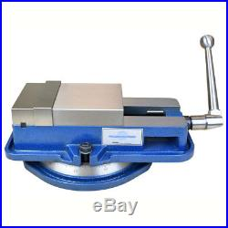 5 INCH HIGH PRECISION MILLING VISE WithSWIVEL BASE KNEE MILL OR BENCH MILL