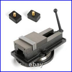 5 Inch Milling Machine Lockdown Vise Swivel Hardened With 360 Base Fast