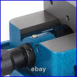 5 Milling Machine Lockdown Vise 360° Swiveling Base Precision Bench Top Removal