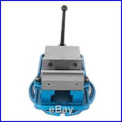 5 Milling Machine Lockdown Vise Swivel Base Swivel Base 0-360deg scales Width