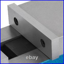 5 Milling Machine Lockdown Vise Swivel Base Swivel Base Hardened Metal CNC