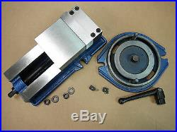 5 PRECISION MILLING MACHINE VISE with SWIVEL BASE Lathe CNC Grinder M850500