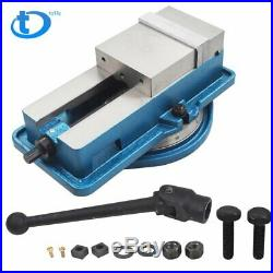 5 Precision Mill Vise Anti-Jaw Lifting With Swivel Base New