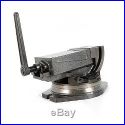 5 Precision Milling Vise Tilting Vise Swivel Base Angle Tilting 2 Way USA STOCK