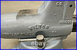 5 Wilton C2 Bullet Vise with Swivel Base & Pipe Jaws Schiller Park, IL Bench Vice