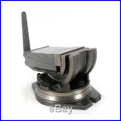 6Precision Milling Vise Tilting Vise With Swivel Base 2 Way Clamp Angle Tilting