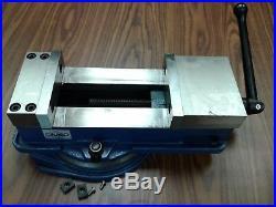 6 ANG-DOWN-LOCK MILLING MACHINE VISE X-large opening 8.5 swivel base 850-600L