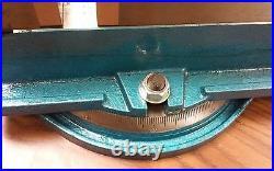 6 ANG-DOWN-LOCK MILLING MACHINE VISE w. Swivel base #850-600 free shipping USA
