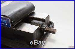 6 Angle-Locking Milling Vise with Swivel Base (Vertex VA-6), Made in Taiwan