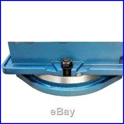 6 Milling Machine Lockdown Vise -Swiveling Base Hardened Metal CNC Vise
