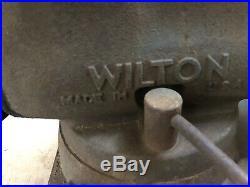 6 Wilton Utility Bench Vise with Swivel Base
