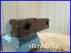 American Red Seal NO. 63N 4 Jaw Machinist Bench Vise Opens to 8 Swivel Base
