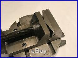 Atlas MF Horizontal Milling Machine Swivel Base 2 3/8 Yankee Drill Press Vise