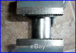 BABY WILTON VISE 825 2 1/2 inch Wide Jaws in very nice condition swivel base