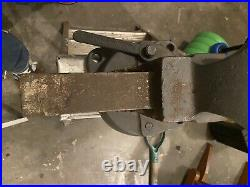 BEAUTIFUL Large 4 CHAS PARKER 974 Swivel Base Bench Vise COMPLETE WORKING ORDER