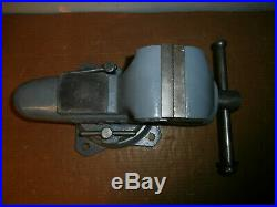 Beautiful Wilton 4 Inch Bullet Vise With Swivel Base 4-84