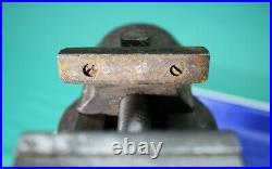 Boley Leinen German Watchmaker Bench Vise 2-1/4 Jaws Swivel Base #254