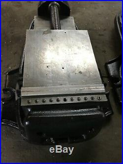 Bridgeport Milling Machine 6 Vise With Swivel Base & Handle