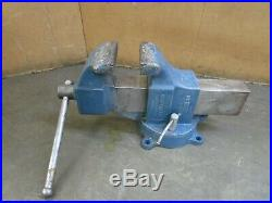 COLUMBIAN S06-M2 62384 6 MACHINIST BENCH VISE With SWIVEL BASE 14 MAX OPENING