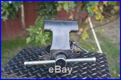 CRAFTSMAN 4-1/2 JAW BENCH VISE With SWIVEL BASE AND PIPE GRIPS MADE IN USA