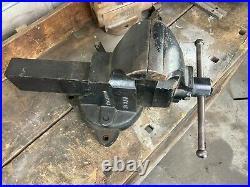 Charles Parker 976 vise vintage antique 157lbs Swivel Base