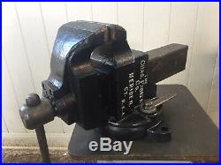 Chas Parker 976 vise with Swivel Base 6 Jaws 155lbs Machinist Vice