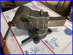 Chas Parker Bench Vise No. 383 1/2, Swivel Base & Swivel Jaw Vice