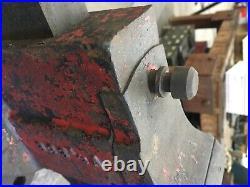 Chas parker vise 383 1/2A swivel base pivoting jaw