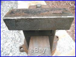 Columbian Cleveland No. 406 Swivel Base Swivel Jaw Bench Vise, 6 Jaws, 120 Lb