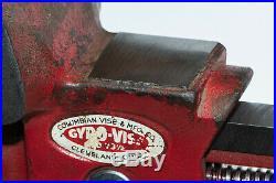 Columbian Gyro-vise/Versa-Vise Versatile Swivel Base 3-1/2 Jaws, Gunsmith