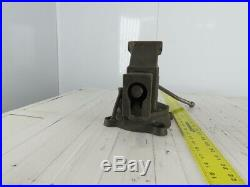 Columbian No. 604 4 Jaw 5-1/2 Open Swivel Base Bench Vise