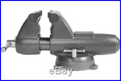 Combination Pipe And Bench 6 Jaw Round Channel Vise with Swivel Base 28828