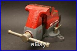 Craftsman 391-5188 Swivel Base 4 Vise with Pipe Jaws Blacksmith Tool Bench Vice