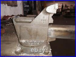 Craftsman Bench Mount Vise 5.5 5-1/2 Steel Jaw Case Iron 61671 Swivel Base