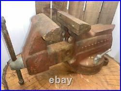 Craftsman No. 506-51810 Swivel Base Vise with Anvil Horn 5x8 Jaws Made in USA